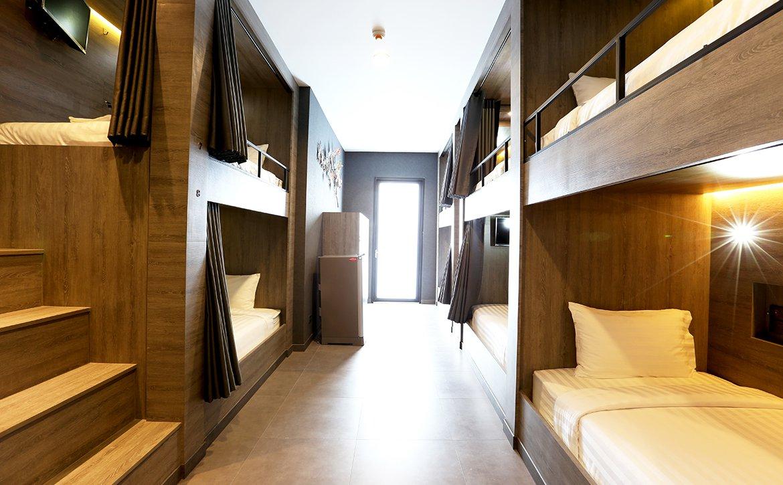 EIGHT BUNK BEDS WITH BALCONY AND EN SUITE BATHROOM